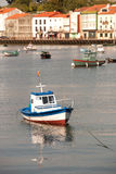 Fishing boat  on a coast village of Spain Royalty Free Stock Photo