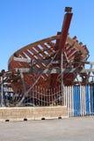 Fishing Boat Construction Stock Image