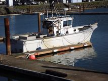 Fishing boat. In the crescent city California harbor Royalty Free Stock Photography