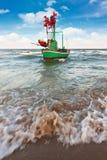 Fishing boat on daylight Stock Photos