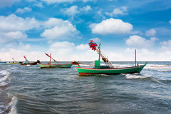 Fishing boat on daylight Stock Photography