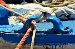 Fishing boat, details Royalty Free Stock Images