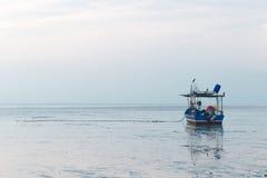 Fishing boat on dock Royalty Free Stock Image