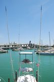 Fishing boat docked in Miami Royalty Free Stock Photos