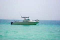 Fishing boat in Dubai Stock Photos