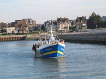 Fishing Boat in France Royalty Free Stock Image