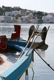 Fishing boat front Royalty Free Stock Images