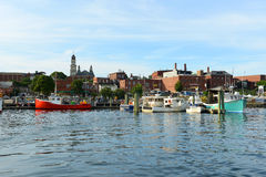 Fishing Boat at Gloucester port, Massachusetts Stock Photography