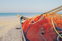 Fishing boat in Goa Royalty Free Stock Photography