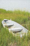 Fishing Boat in the Grass Royalty Free Stock Photography