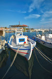 Fishing boat in greek island Royalty Free Stock Image