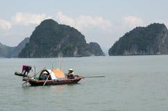 Fishing Boat. A fishing boat in Ha Long Bay, Vietnam Stock Photography