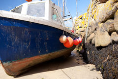 Fishing boat harbor Stock Photography