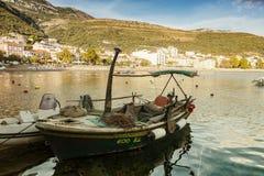 Petrovac fishing boat Stock Photos
