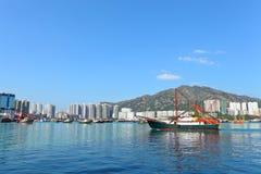 Fishing boat in Hong Kong