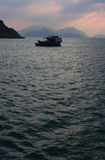 Fishing boat, Hong Kong. Royalty Free Stock Photography