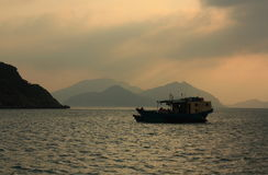Fishing boat, Hong Kong Stock Image