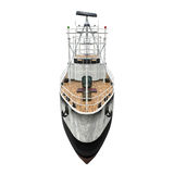 Fishing Boat Isolated Royalty Free Stock Images