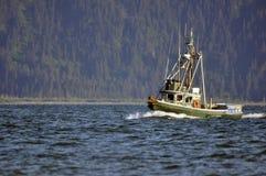 Fishing Boat. In the Kachemak Bay, near Homer, Alaska Royalty Free Stock Photo