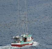 Fishing Boat. Ketchikan, AK, USA - May 24, 2016:  A fishing boat cruises near Ketchikan, Alaska Stock Photography