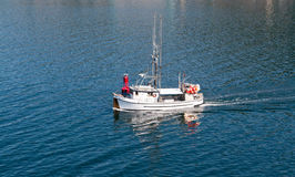 Fishing Boat in Ketchikan, Alaska Stock Photos