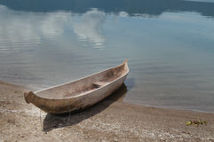 Fishing boat at Lake Maninjau (Danau Maninjau) Royalty Free Stock Images
