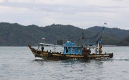 Fishing Boat in Malaysia Royalty Free Stock Images