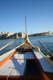 Fishing Boat in Malta Royalty Free Stock Images