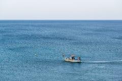 Fishing boat. On the Mediterranean Sea Stock Photos