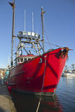 Fishing boat in Newport Oregon. Royalty Free Stock Photos