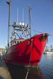 Fishing boat in Newport Oregon. Royalty Free Stock Photos