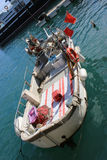 Fishing Boat in Nice, France Royalty Free Stock Photo