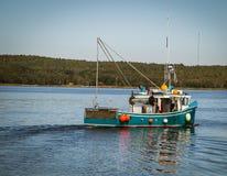 Fishing boat nova scotia Royalty Free Stock Photography