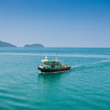 Fishing boat on ocean  in koh chang Stock Image