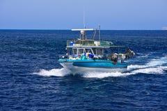 Fishing Boat On Sea Royalty Free Stock Photography