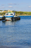 Fishing Boat, Marsaxlokk Malta Stock Photo