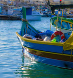 Fishing Boat equipped Royalty Free Stock Photography
