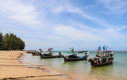 Fishing boat is out fishing Royalty Free Stock Images