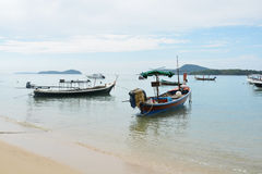 Fishing Boat. A place to rent a boat in islands such as Phuket Island Koh Bon, Koh Racha and Koh Kaew. One of the most popular Although Rawai Beach is a sandy Stock Photography