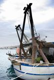 Fishing boat in port, harbor Royalty Free Stock Image