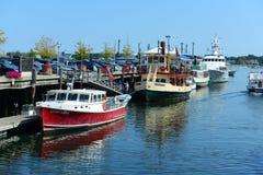Fishing Boat at Portland, Maine, USA Royalty Free Stock Photo