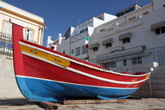 Fishing boat in Portugal Royalty Free Stock Image