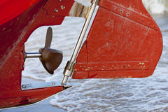 Fishing boat propeller Stock Photography