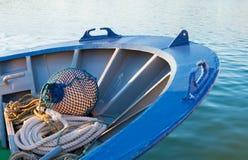 Fishing boat prow Stock Image