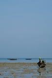 Fishing boat at Railay Stock Image