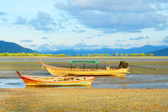Fishing Boat, Ranong Thailand. Royalty Free Stock Image