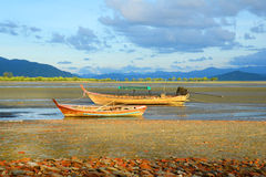 Fishing Boat, Ranong Thailand. Stock Images