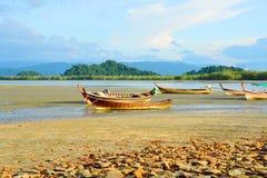 Fishing Boat, Ranong Thailand. Stock Image