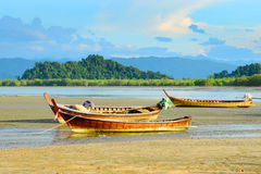 Fishing Boat, Ranong Thailand. Royalty Free Stock Photo