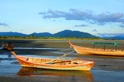 Fishing Boat, Ranong Thailand. Stock Photography